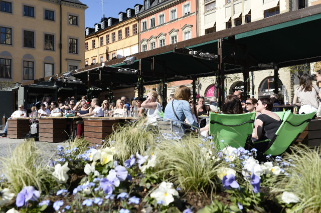 Summer arrives at 'extremely early' April date in Stockholm