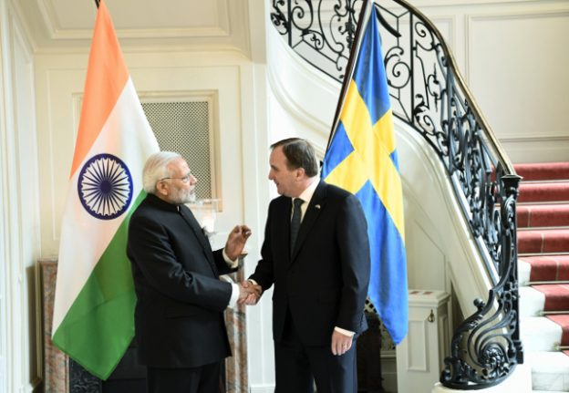 'Strong boost to bilateral partnership' as Indian PM Modi visits Sweden