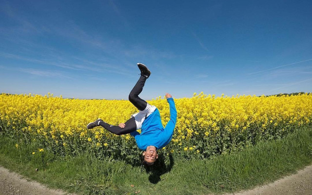 'Every day since I came to Sweden feels like a dream': From Gaza to Gothenburg through parkour