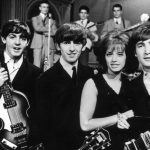 With The Beatles in Stockholm, 1963.Photo: TT
