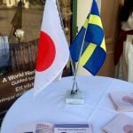 The 150th anniversary of the establishment of diplomatic relations between Japan and SwedenPhoto: Micke Bayart/Azul