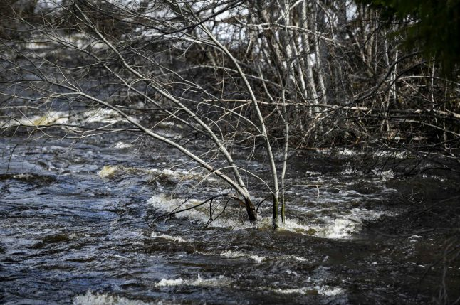 Sweden readies flood barriers as water rises in the north