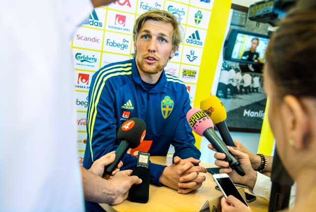 Sweden's World Cup star Emil Forsberg keeps it in the family