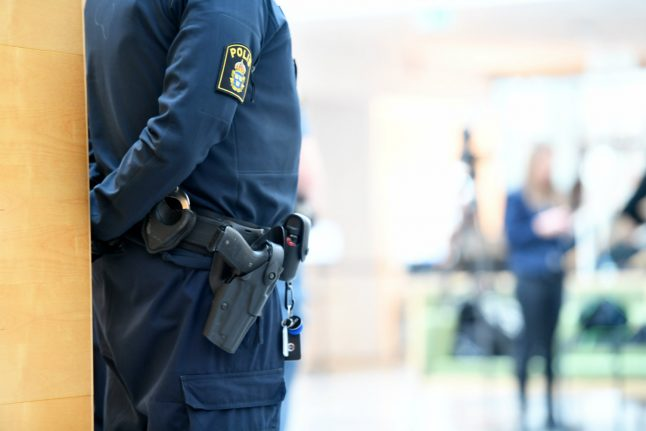 Swedish policeman in hot water after leaving weapon in toilet