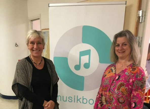 Swedish charity MusikBojen brings music therapy to children in need
