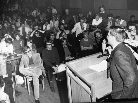 50 years on: Remembering Stockholm's student protest of 1968