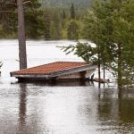IN PICTURES: Thawing snow causes floods in northern Sweden