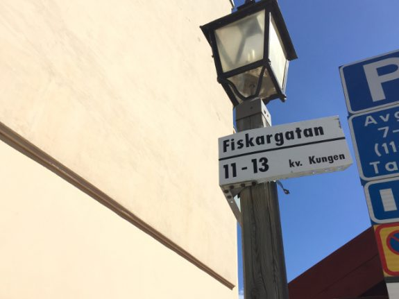 Change street name out of 'respect for fish', Peta tells Stockholm