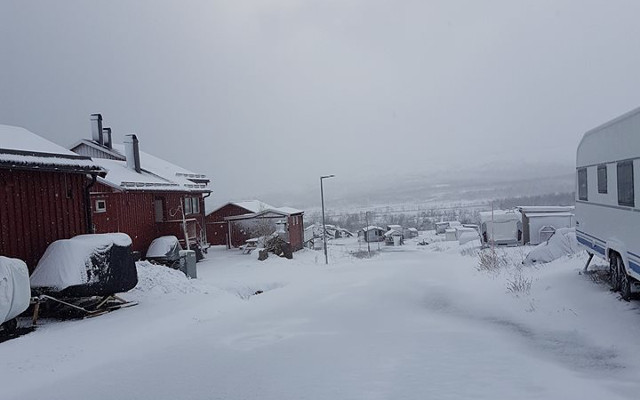 Snow in June? The heatwave is truly over for this town in northern Sweden