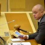 Top Swedish politician reported for claiming Jews are 'not Swedes'