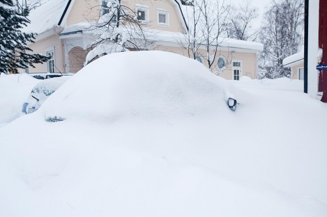 Record amount of snow may last the whole summer in northern Sweden