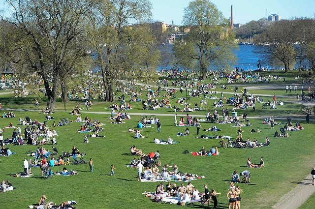 Summer returns to Sweden with 'above average' temperatures forecast for end of June