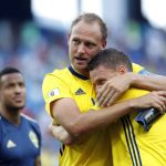 WATCH: Sweden star Marcus Berg's four-year-old son in tears as dad makes World Cup debut