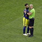 Anti-racism demonstration held in Stockholm to support footballer Jimmy Durmaz