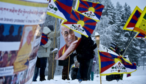 Sweden jails man for spying on exiled Tibetans for China