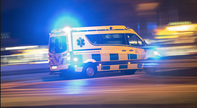 One dead and six injured in crash on Swedish highway