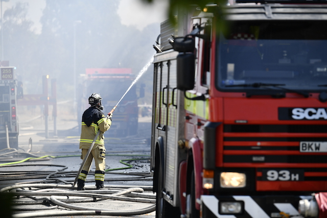 Sweden's wildfires still serious with heatwave on the horizon