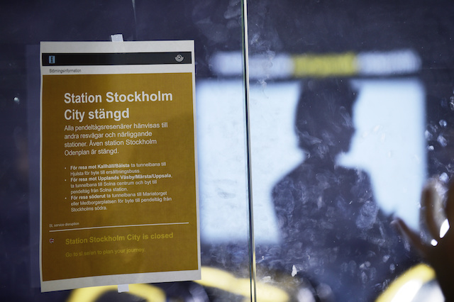 'They spent so much on this new station, how can it be broken already?': Stockholmers and tourists react to public transport chaos