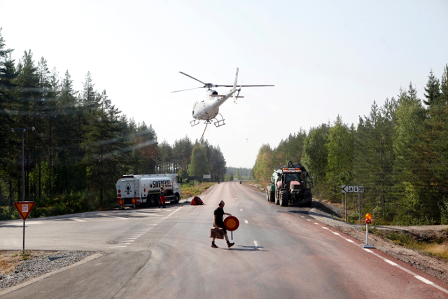 Sweden faces 'extreme' risk of even more wildfires