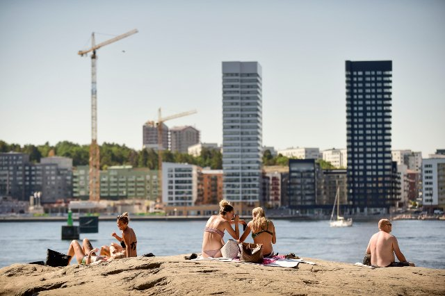 Sweden heatwave: hottest July in (at least) 260 years