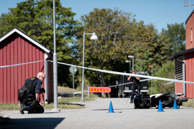 Returned Isis fighter held over Örebro shooting: reports