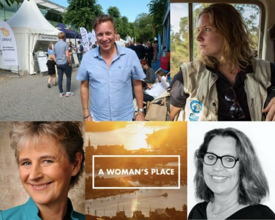 PODCAST: A Woman's Place at Almedalen Week