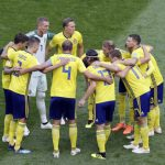 Sweden World Cup shirts sold out as euphoric fans exhaust stocks