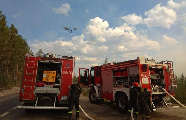 'I didn't expect this could happen in Sweden': Polish firefighter in Kårböle