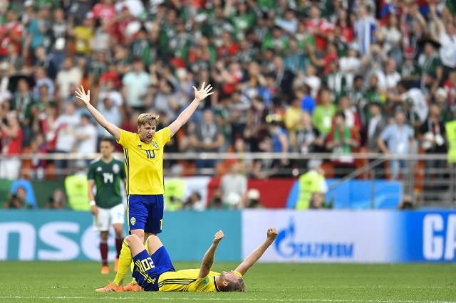 World Cup: without Zlatan, Sweden's team spirit shines