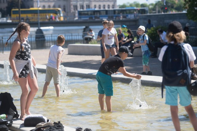 Sweden issues 'unusual' weather warning as heatwave continues