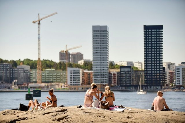 Sweden had its hottest ever July, breaking several weather records
