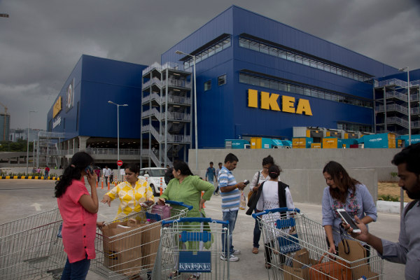 IN PICTURES: Here's what it looked like when Ikea opened a store in India