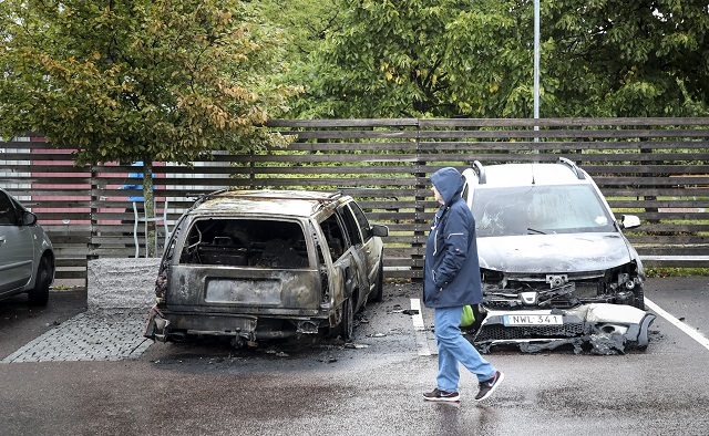 Around 100 cars damaged after further suspected arson attacks