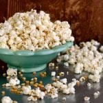 Why is 40,000 litres of popcorn being dumped in the Baltic Sea?