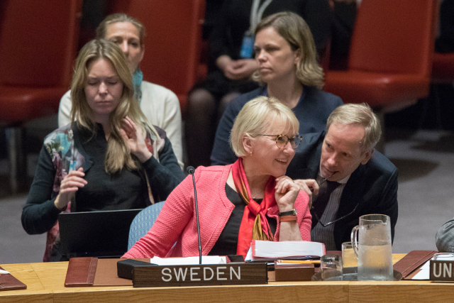 How to get your own feminist foreign policy: Sweden launches handbook