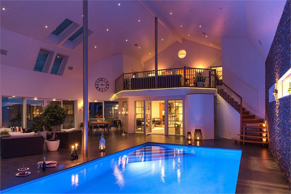 Property of the week: This Swedish house has its own cinema AND pool