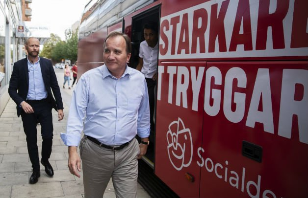 Swedish PM pledges to hike taxes on the 'very, very rich'