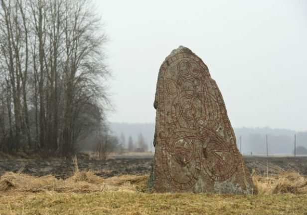 Cyclist saves ancient rune stone from being crushed