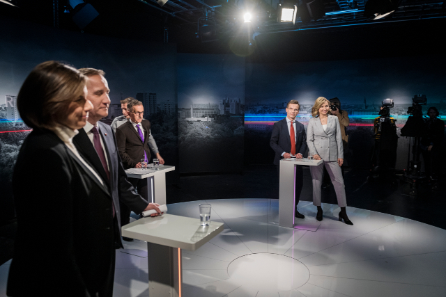 Which party leader do people in Sweden trust most?