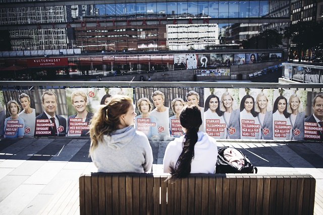 Swedes overseas start voting in the September election