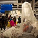 Indian shoppers inside Ikea's first store in Hyderabad.Photo: AP Photo/Mahesh Kumar A