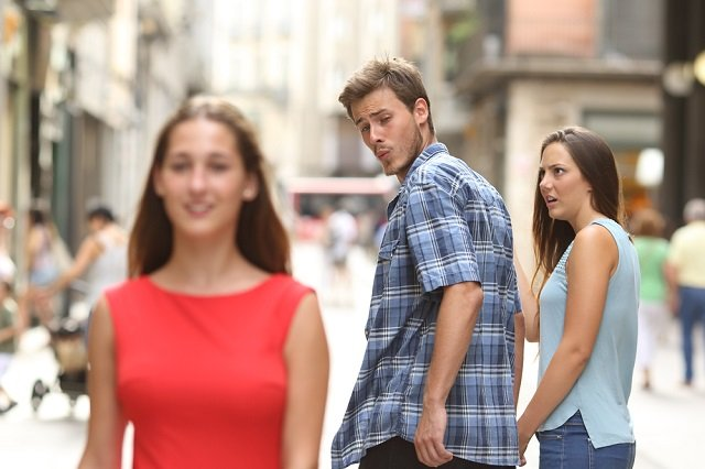 'Why we ruled that a Distracted Boyfriend meme advert was sexist'