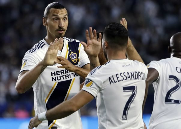 Frustrated Ibrahimovic coy on Galaxy future