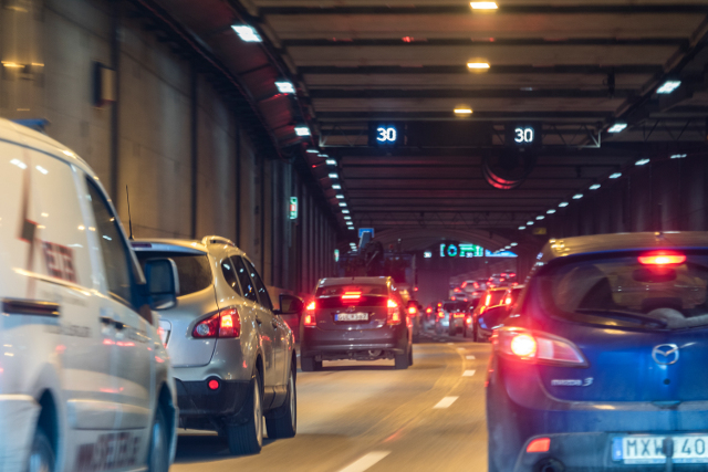 Rush-hour chaos in Stockholm after truck overturns