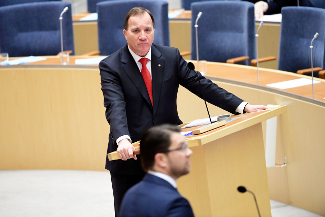 Social Democrats head for record low score in Sweden's election