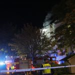 Residents jump from top floor as fire rips through student corridor in Jönköping