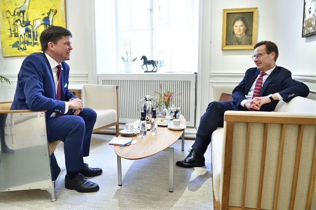 Talks on forming Sweden's new government to continue next week