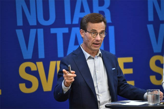 Who is Sweden's Moderate opposition leader Ulf Kristersson?