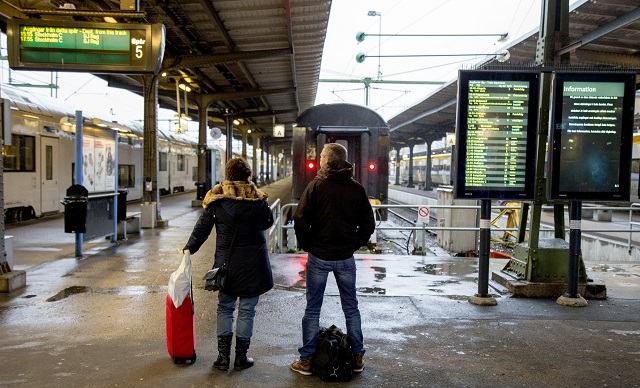 Trains and ferries cancelled as storm approaches western Sweden