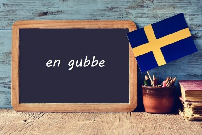 Swedish word of the day: en gubbe